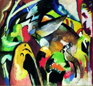 Wasily Kandinsky, Improvisation 19a, 1911, olie op doek
